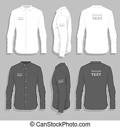 服の ワイシャツ