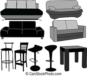 服飾品, vectors, furniture-home, 仕事