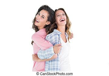 朗らかである, 若い女性たち, 地位, 後部に戻って
