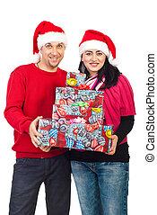 朗らかである, 贈り物, 恋人, 把握, クリスマス