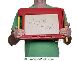望まれる, 雇用