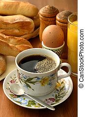 朝食, コーヒー
