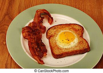 朝食, プレート