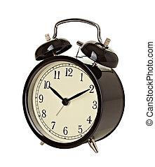 朝, 期限, 時間, 航跡, 鐘, 時計, の上
