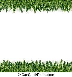 木の枝, クリスマス