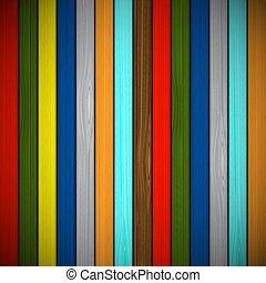 木制板, 背景, 多种顏色