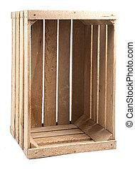 木制的板条箱