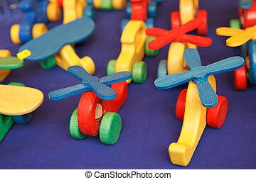 木制的玩具