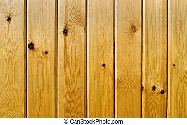 木制的结构, 面板