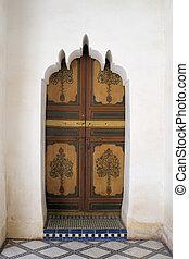 木制的門, 以及, 石頭雕刻, 3