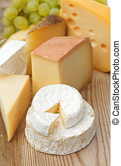 木制, 乳酪, 桌子