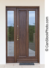 木制, 入口, 門
