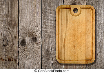 木制, 切板, 背景