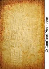 木制, 摘要, grunge, 黄色的背景