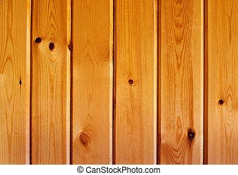 木制, 擦亮, 结构, 面板