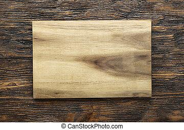 木制, 正文, 切板, 空間
