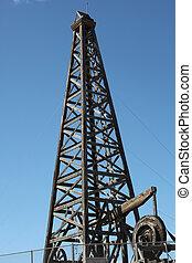 木制, 油, rig.
