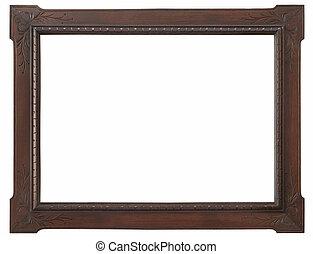 木制, 照片框架