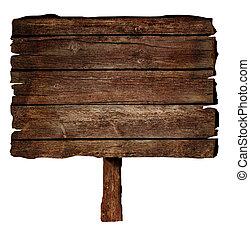 木制, 签署