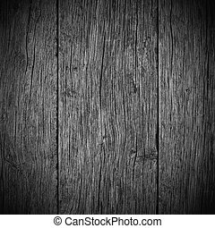 木制, 老, 板條, 背景