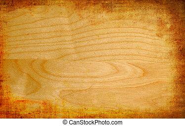 木制, 葡萄收获期, 摘要, grunge, 背景