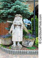 木制, 雕刻品