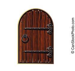 木制, door.
