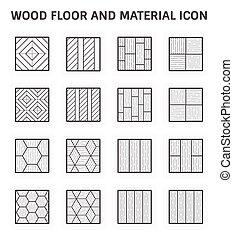 木地板, 图标