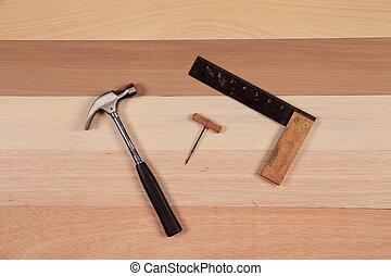 木工工作, 工具