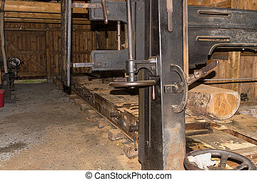 木工, 中に, ∥, 製材所