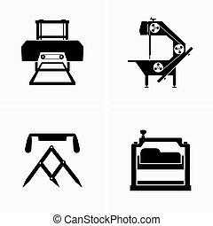 木工, 装置, 製材所