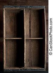 木枠, 木製である