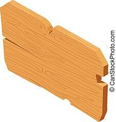 木製である, アイコン, 等大, スタイル, 障壁