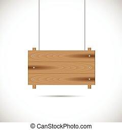 木製である, イラスト, 印