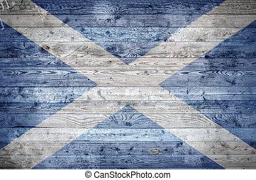 木製である, スコットランド, 板