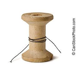 木製である, スプール