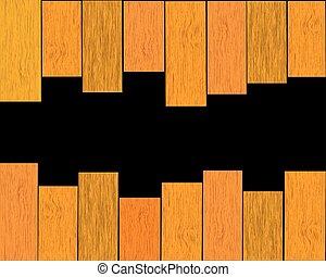 木製である, テキスト, ベクトル, 場所, 背景, あなたの
