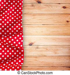 木製である, テーブルクロス, 手ざわり, 背景