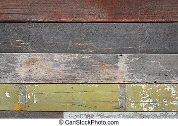 木製である, バックグラウンド。, 古い, 手ざわり
