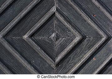 木製である, パターン, ドア