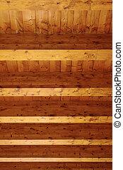 木製である, パターン