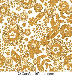 木製である, パターン, seamless, 背景, textured, 花, ボーダー