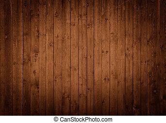木製である, パネル