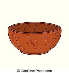 木製である, ベクトル, ボール