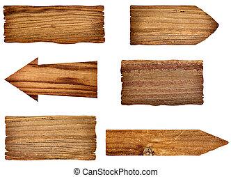 木製である, メッセージ, 背景, 印