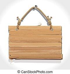 木製である, ロープ, 寄宿生, 印