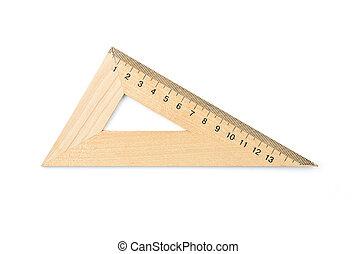 木製である, 三角形, 古い