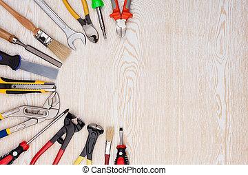 木製である, 仕事, 道具, texture.