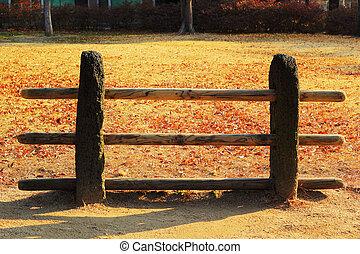 木製である, 伝統的である, korea., 古代, 南