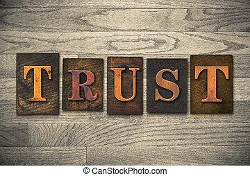 木製である, 信頼, 概念, 凸版印刷